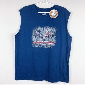 NWT Realtree Graphic Muscle Tee